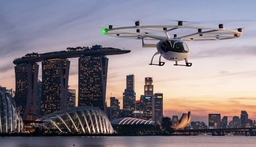 Volocopter has announced its commitment to launching air taxi services in Singapore after two years of close collaboration with the city.