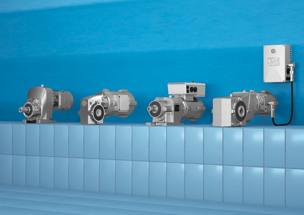 Nord Drivesystems: High-Efficiency Smooth-Surface Motors